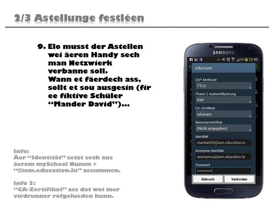 4667 Eduroam Anleitung fir Android