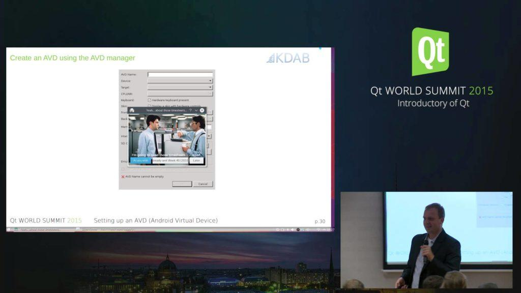 4675 QtWS15 -Getting Started with Qt on Android, BogDan Vatra, KDAB