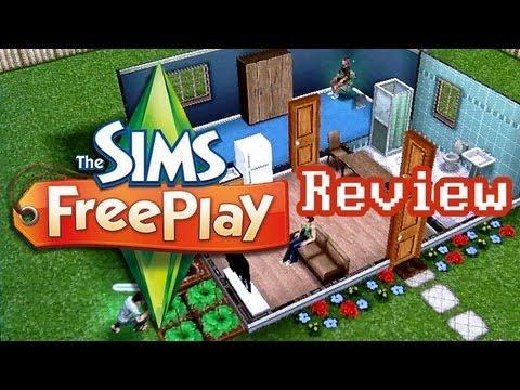 4697 LGR - The Sims FreePlay Review [2012]