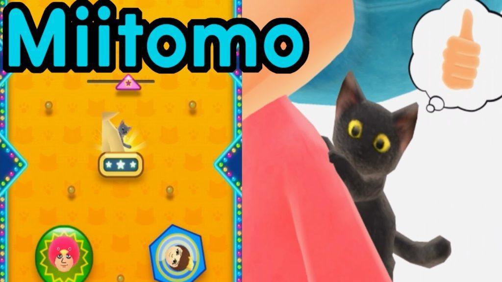 4739 Miitomo App Gameplay Walkthrough PART 2 Cat Companion! Miitomo Drop My Nintendo Mobile iOS Android