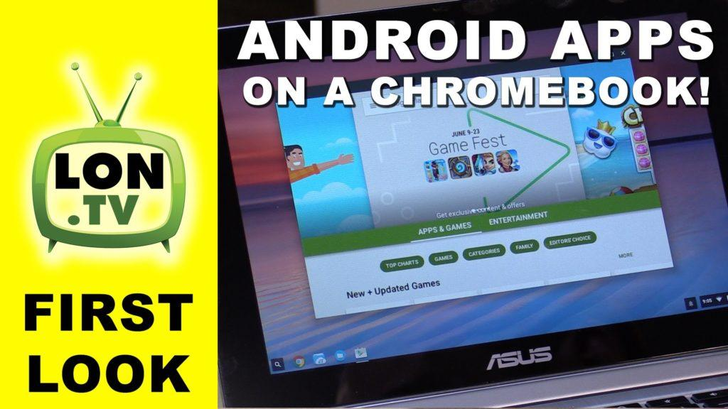 4745 Android Apps Come to Chromebooks - Skype, Retro Emulation, Games, Word and More