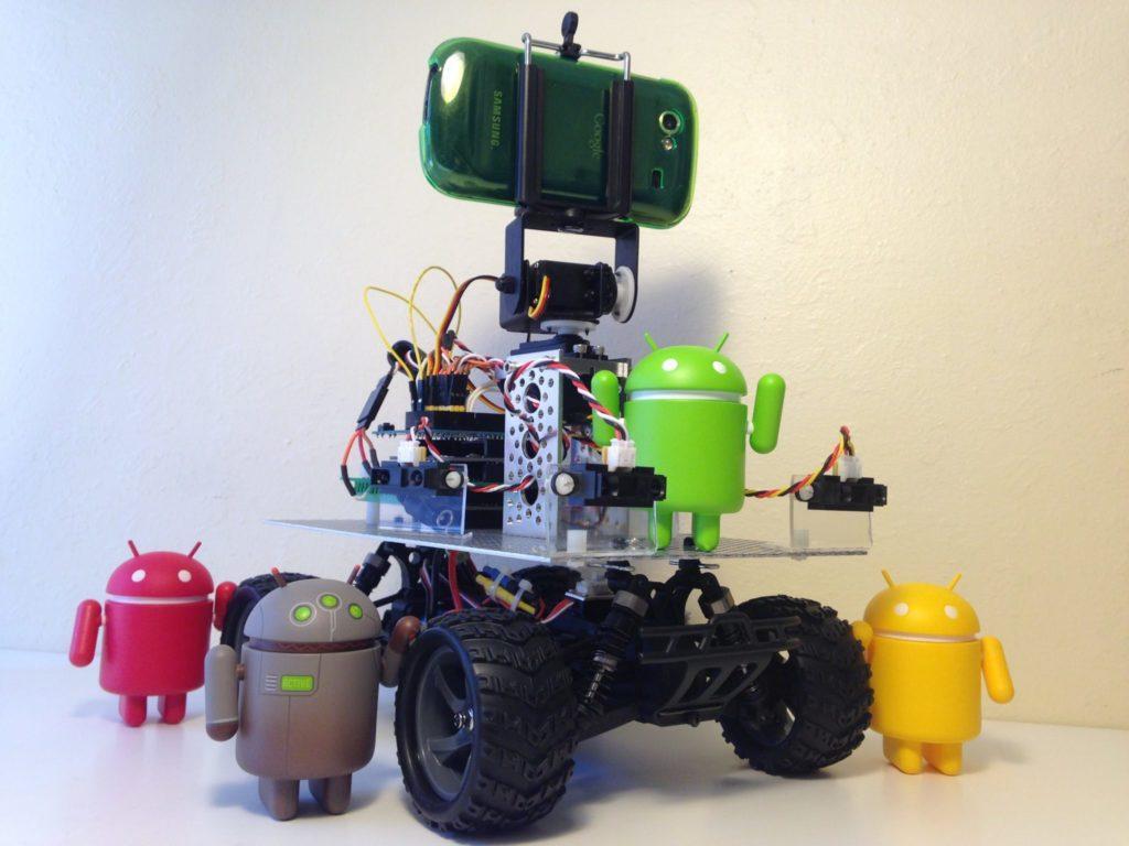 4748 Autonomous Android Vehicle
