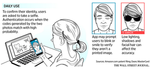 Companies are using selfies to verify consumers' identities