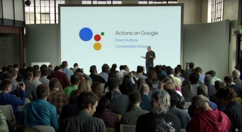 3126 Actions on Google allows 3rd parties to integrate with Google Assistant