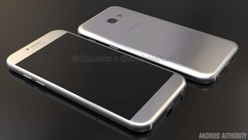 Exclusive: Samsung Galaxy A5 (2017) renders and video leaked