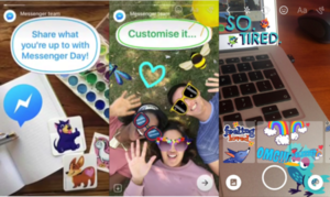 Facebook copies Snapchat Stories with Messenger Day