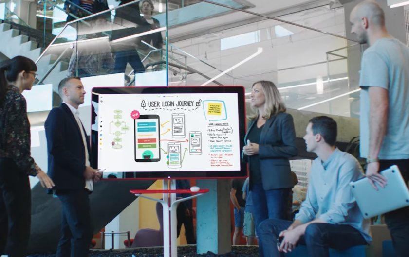 Google Jamboard is a big 55-inch 4K whiteboard due in 2017