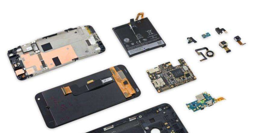 Google Pixel XL gets the iFixit teardown treatment and finds many modular parts