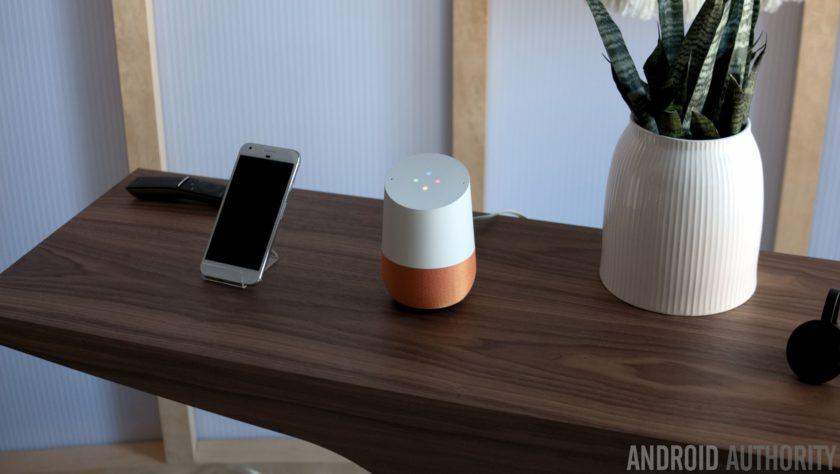 Which apps does Google Home support?