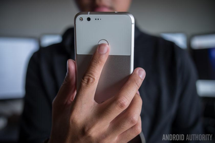 google pixel xl initial review aa (18 of 48) fingerprint nexus imprint