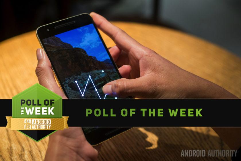How do you secure your phone's lock screen? [Poll of the Week]