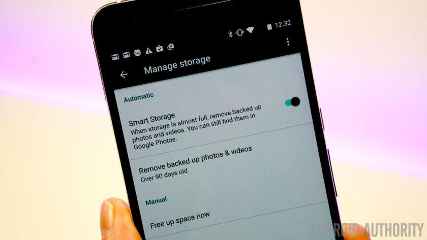 How to use the Android 7.1 storage manager to free up space