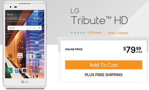 2791 LG Tribute HD now at pre-paid wireless operators Boost and Virgin