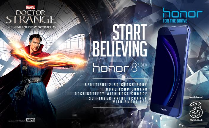 4693 Marvel and Honor team up to launch a limited edition Doctor Strange Honor 8