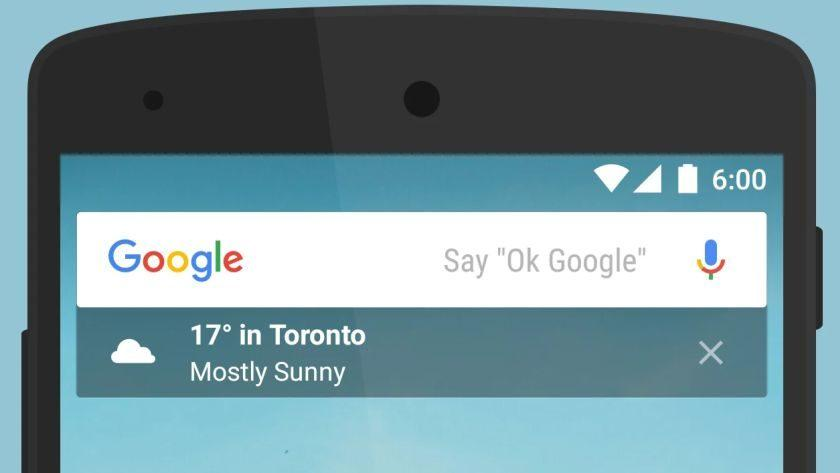 New Google app update adds widget support under the search bar