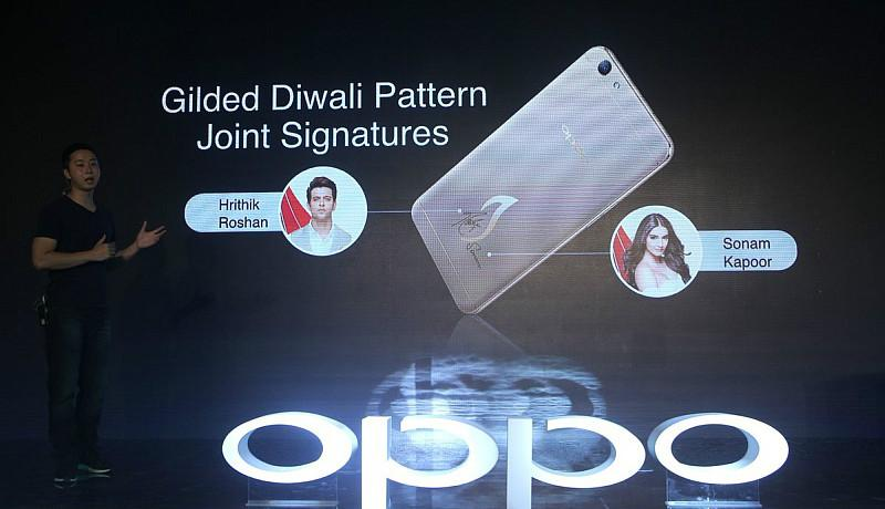 OPPO launches F1s Diwali Limited Edition