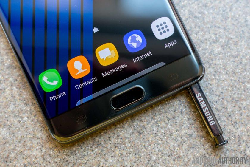 Our first look at the phones that will fill the Galaxy Note 7 hole