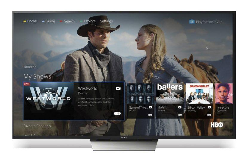 5868 PlayStation Vue and its internet TV service makes its way to Android TV
