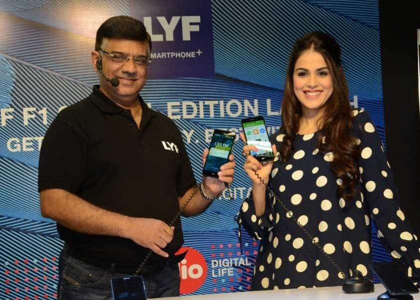 5445 Reliance Retail introduces special edition LYF F1 in India