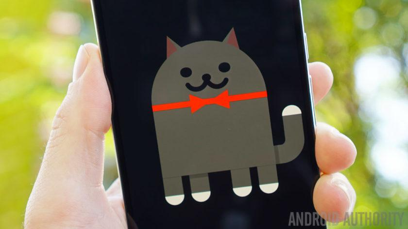 The cat-catching mini-game in Nougat can now be played on most Android devices