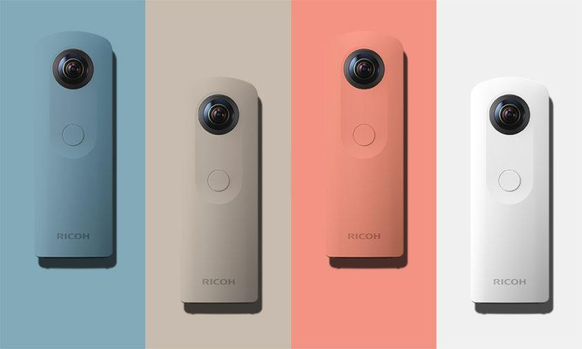 4954 The new Ricoh Theta SC 360 degree camera is both small and easy to use