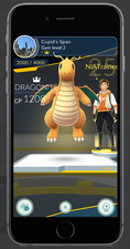 Update to Pokemon Go will allow you to train at the Gym with up to 6 Pokemon