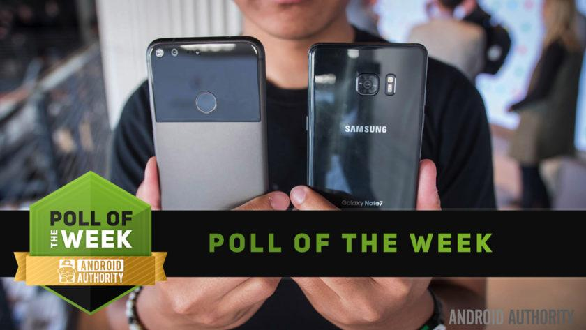 What is the best Galaxy Note 7 alternative? [Poll of the Week]