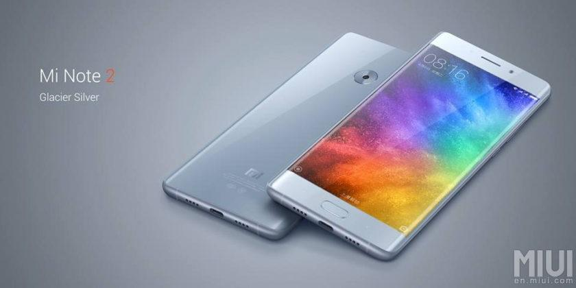 Xiaomi Mi Note 2's curved screen and great specs will help you forget about the Note 7