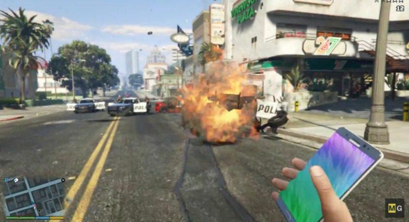 5510 YouTube reinstates that GTA V exploding Galaxy Note 7 video