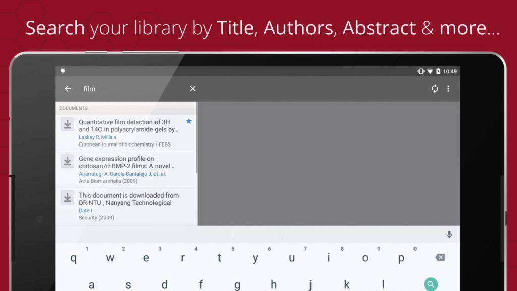 1547 Mendeley for Android - Available now