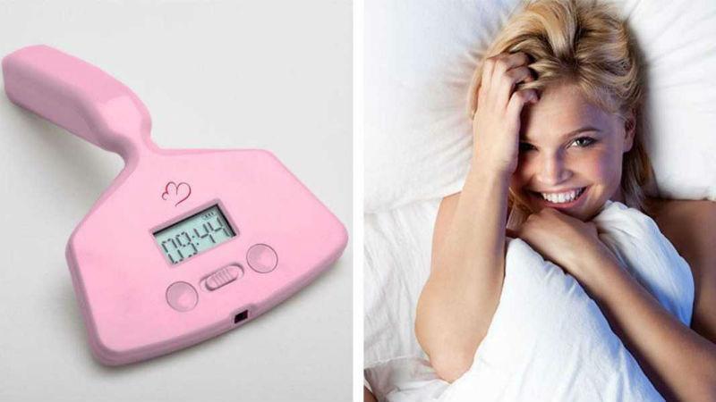 23080 Этот будильник-вибратор позаботится о том, чтобы женщина начала день с оргазма
