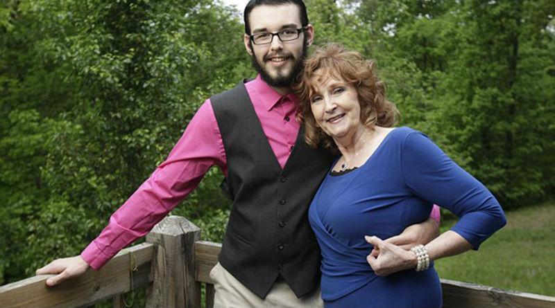 23867 71-летняя американка познакомилась с 17-летним парнем на похоронах сына и вышла за него замуж