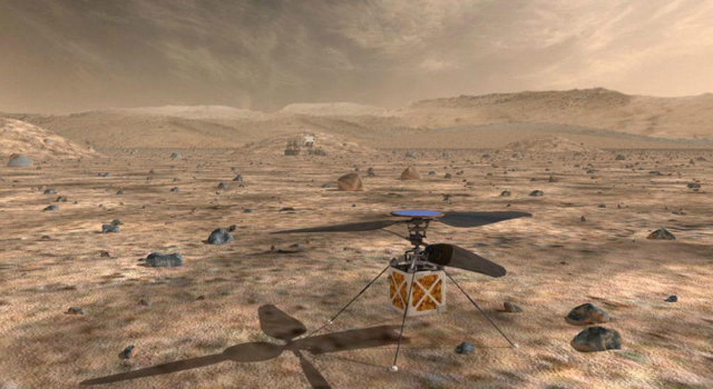 42969 Мини-вертолёт всё-таки полетит на Марс