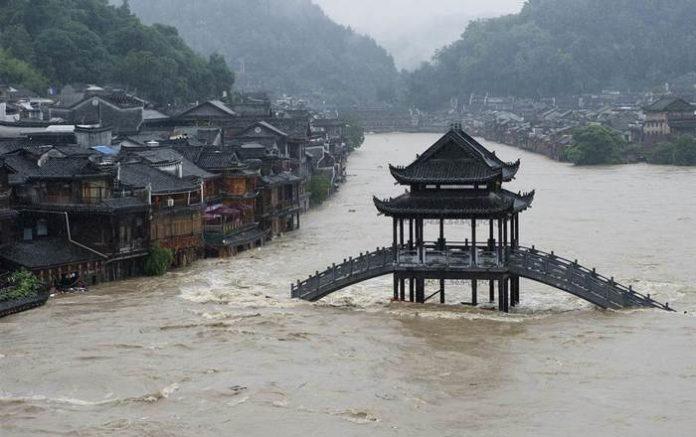 51920 В Китае стихия разрушила крупный майнинг-центр