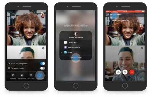 107303 Skype для Android обзавёлся демонстрацией экрана