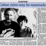 115576 Подводный город с пирамидами у берегов Кубы