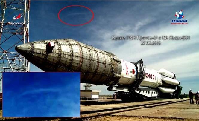 115583 Корабль Союз обстрелял НЛО?