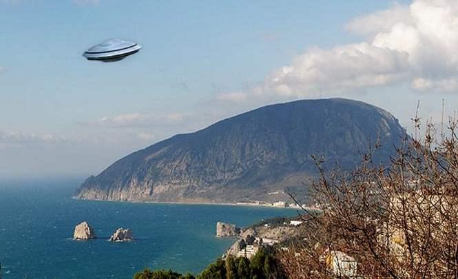 116013 Под горой Аю-Даг В Крыму находится инопланетная база