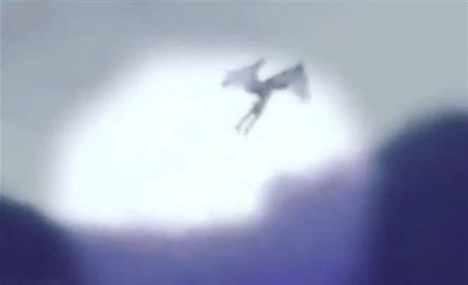 115917 В Дагестане на видео сняли пришельца