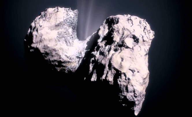 116207 НЛО взлетел с кометы Чурюмова-Герасименко