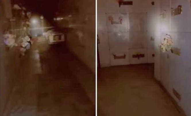 116214 Призрак напугал охранника крематория
