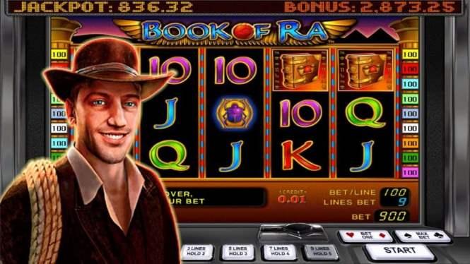 116464 Обзор игрового автомата Book of Ra
