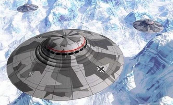 116890 Антарктическая База-211 — фабрика летающих тарелок