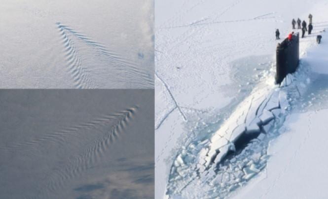 116959 Допотопную подводную лодку вмерзшую в лёд нашли в Антарктиде?