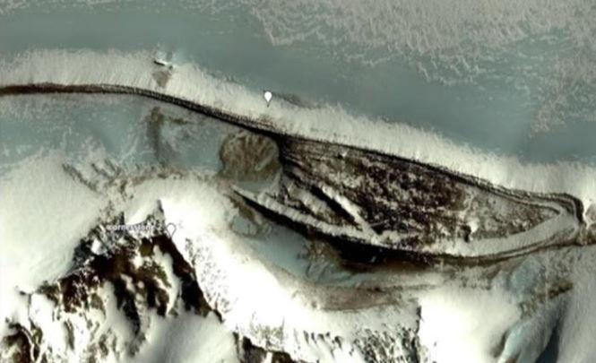 117401 Древнюю стену нашли в Антарктике