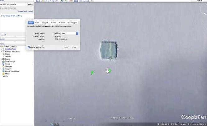 117476 Таинственное здание обнаружили в Антарктиде