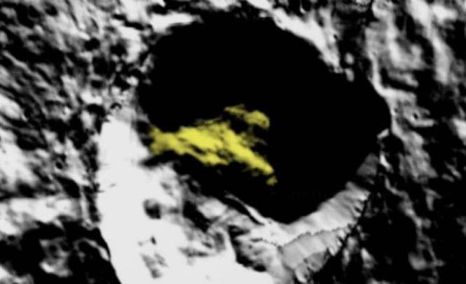 117627 Огромный корабль найден в кратере на Церере