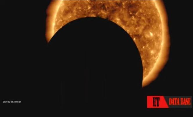 117705 Огромный НЛО закрыл Солнце