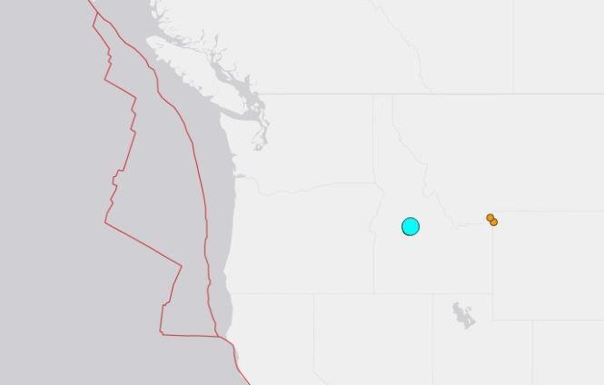 117921 Землетрясение М6.5 в Айдахо. Следующими могут быть Йеллоустоун или Рейнир.