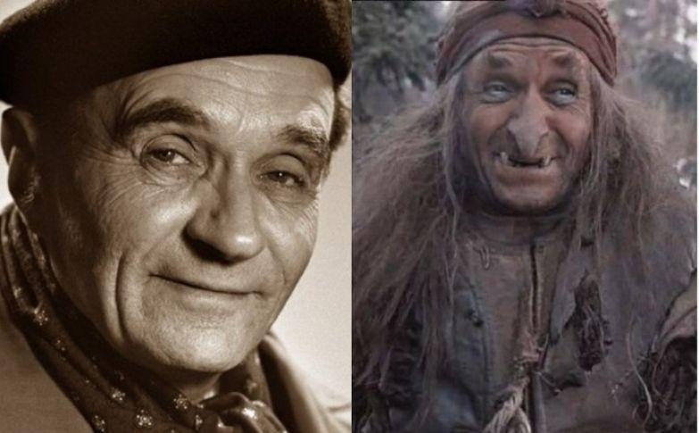 119214 Одинокий джентльмен и заслуженная Баба Яга советского кино: Георгий Милляр